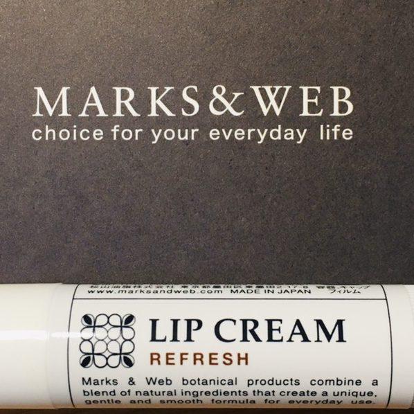 marks&webリップクリーム